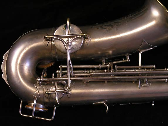 Buescher Matte Silver Plate True Tone Alto - 201428 - Photo # 5