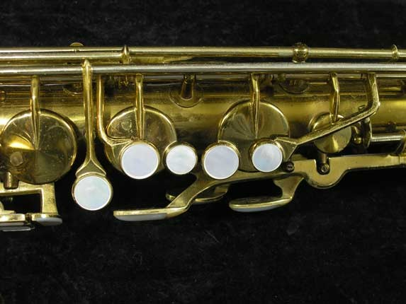King Lacquer-Sterling Neck Zephyr Tenor - 209917 - Photo # 7