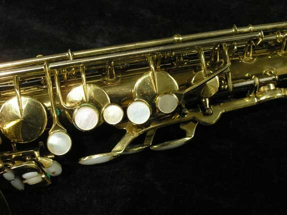 King Lacquer-Sterling Neck Super 20 Tenor - 313306 - Photo # 7