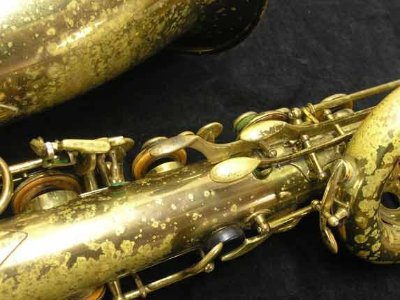 "Selmer Lacquer Mark VI ""Low A"" Baritone - 93188 - Photo # 10"