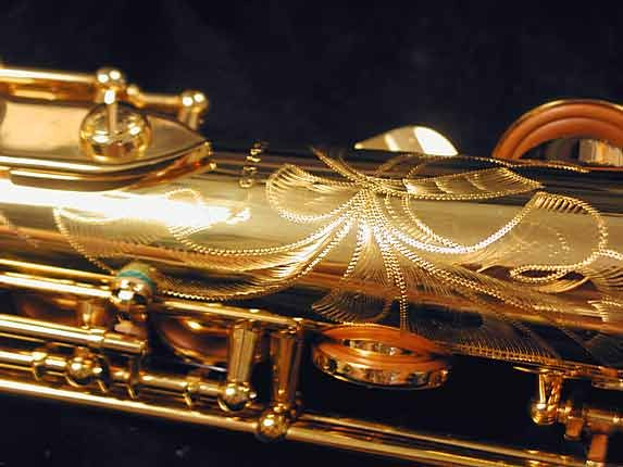 Selmer Gold Plate SA80 serie III Soprano - 637920 - Photo # 9