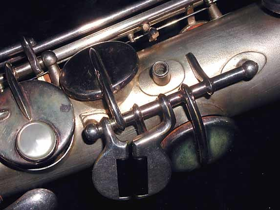 Buescher Silver Plate True Tone C Soprano - 236834 - Photo # 8