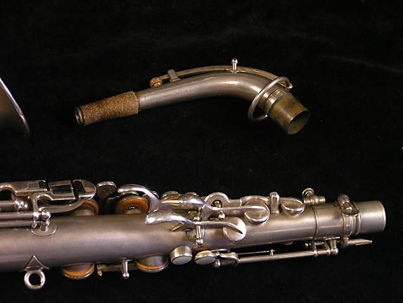 Buescher Matte Silver Plate True Tone Alto - 201428 - Photo # 6