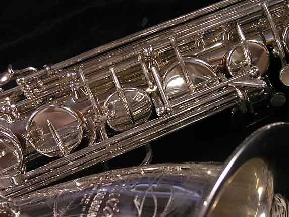 Yamaha Silver Plate Custom YTS-875 - 005658 - Photo # 10