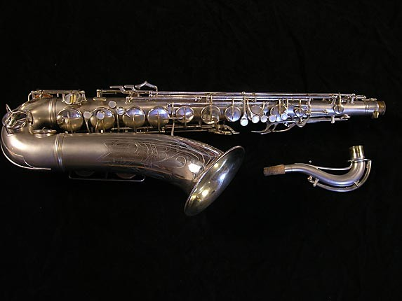 Conn Silver Plate 10M Tenor - 265898 - Photo # 2
