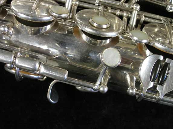 Selmer Silver Plate Mark VI Tenor - 82047 - Photo # 13