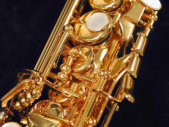 Selmer Gold Plate SA80 serie III Soprano - 637920 - Photo # 10