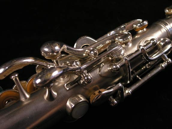Buescher Silver Plate True Tone Soprano - 158769 - Photo # 6