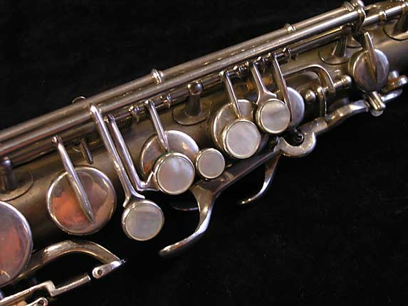 Buescher Matte Silver Plate True Tone Alto - 201428 - Photo # 7