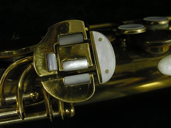 King Lacquer-Sterling Neck Zephyr Tenor - 209917 - Photo # 9