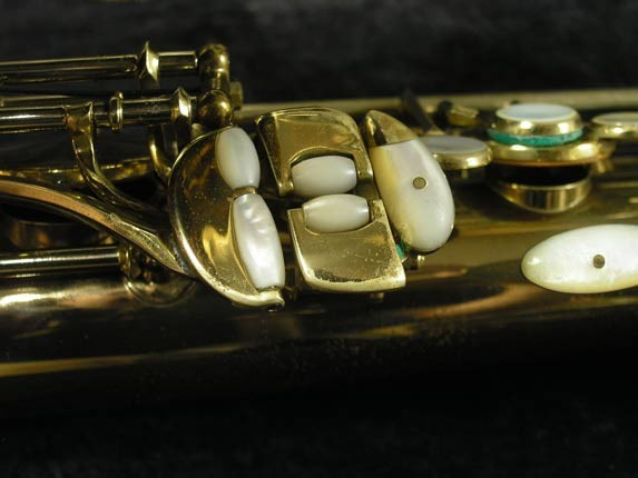 King Lacquer-Sterling Neck Super 20 Tenor - 313306 - Photo # 9