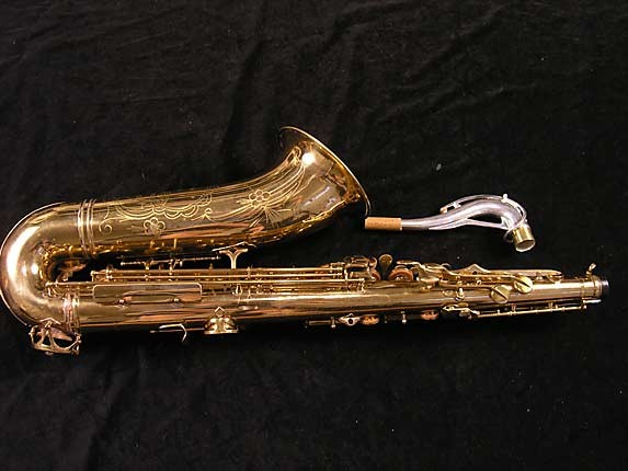 SML Lacquer Gold Medal Mk. I Tenor - 17721 - Photo # 2