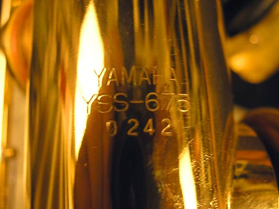Yamaha Lacquer YSS-675 - 0242 - Photo # 10
