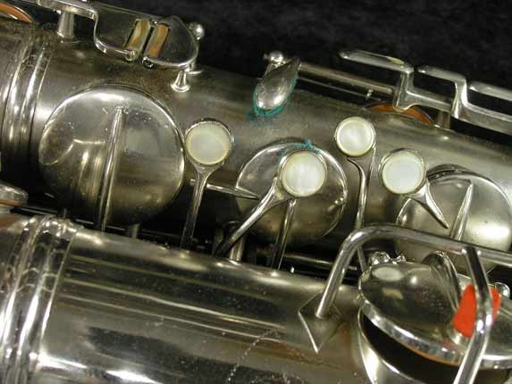 Conn Nickel Plate Chu Berry Tenor - 210338 - Photo # 13
