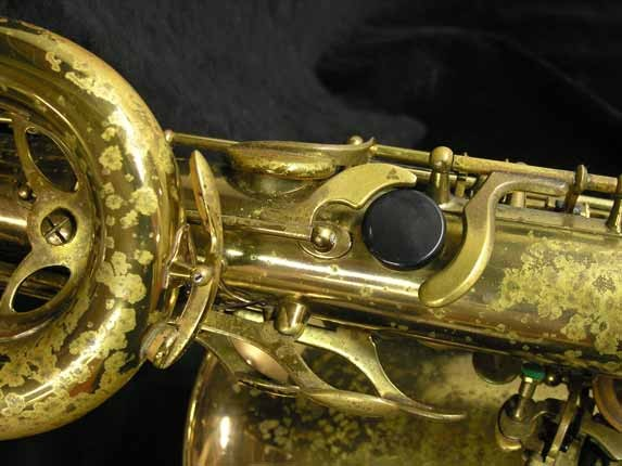 "Selmer Lacquer Mark VI ""Low A"" Baritone - 93188 - Photo # 12"