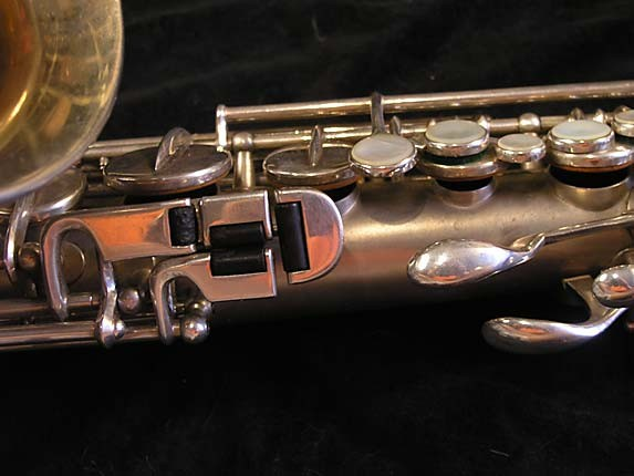 Buescher Matte Silver Plate True Tone Alto - 201428 - Photo # 8