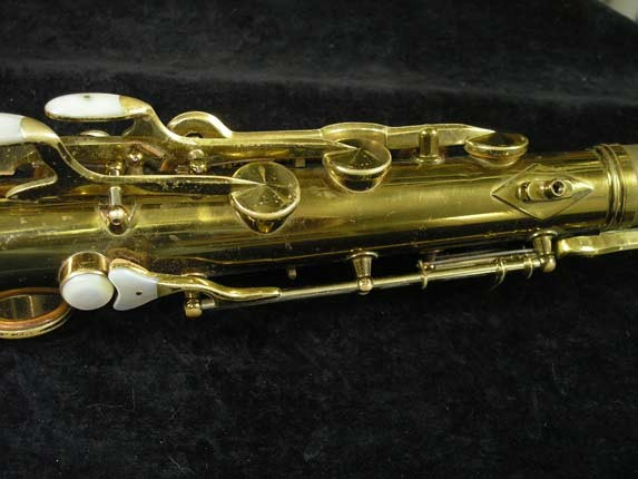 King Lacquer-Sterling Neck Zephyr Tenor - 209917 - Photo # 10