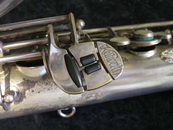 Keilwerth Silver Plate Toneking Tenor - 40304 - Photo # 8