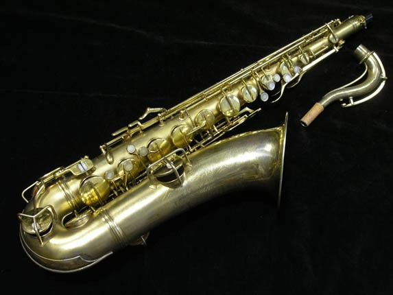 Conn Gold Plate Art Deco Chu Berry Tenor - 239071 - Photo # 1