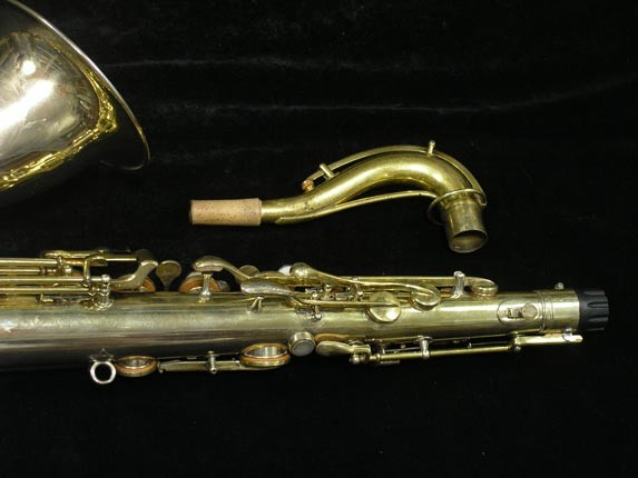 "Conn ""Portrait"" Gold Plate ""Nude Woman"" Tenor - 119399 - Photo # 6"