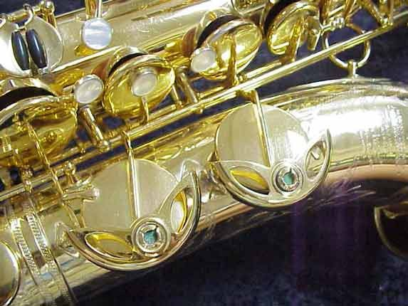 Selmer Gold Plate Super Balanced Action Tenor - 42200 - Photo # 9
