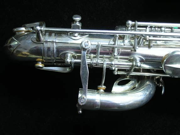 "Selmer Silver Plate Mark VI ""Low A"" Baritone - 138648 - Photo # 10"