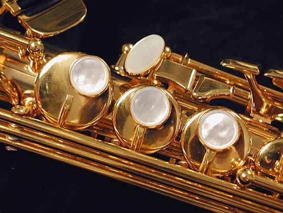 Selmer Gold Plate SA80 serie III Soprano - 637920 - Photo # 12