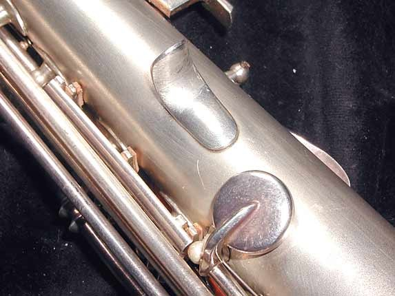 Buescher Silver Plate True Tone C Soprano - 236834 - Photo # 11