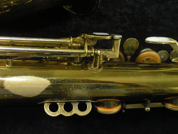 King Lacquer-Sterling Neck Zephyr Tenor - 209917 - Photo # 11