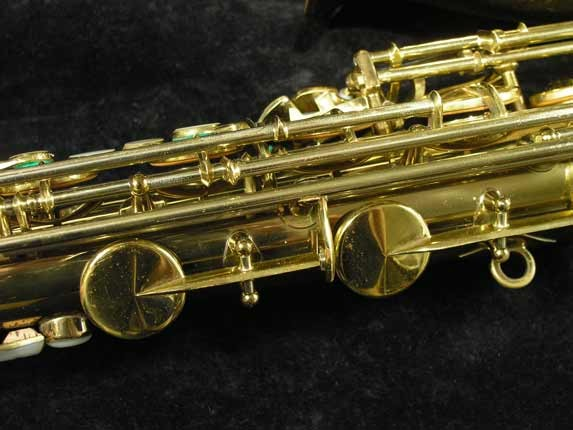 King Lacquer-Sterling Neck Super 20 Tenor - 313306 - Photo # 11