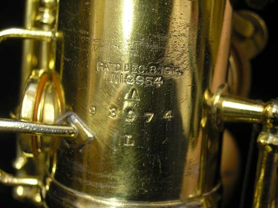 "Conn ""New Wonder"" Gold Plate Alto - 98974 - Photo # 23"