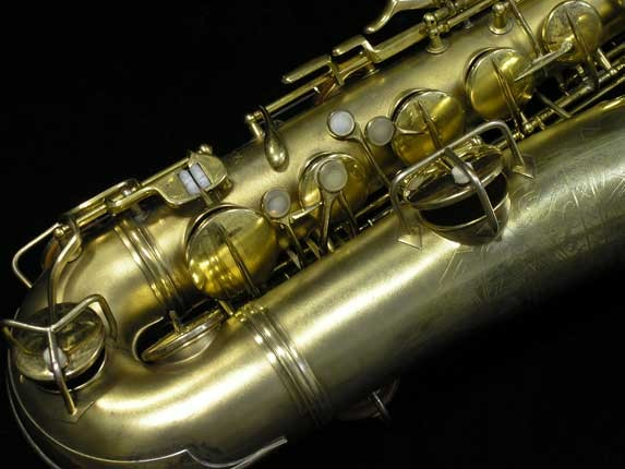 Conn Gold Plate Art Deco Chu Berry Tenor - 239071 - Photo # 2