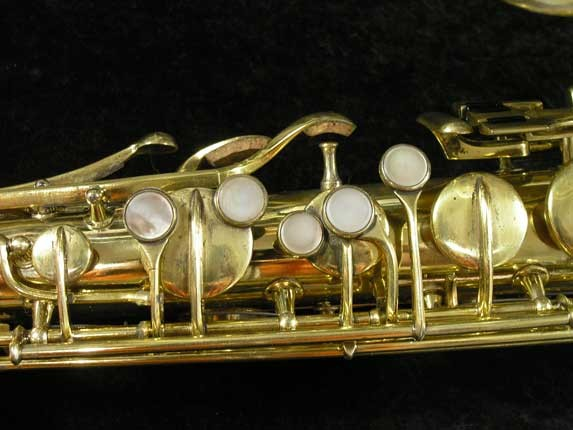 "Conn ""Portrait"" Gold Plate ""Nude Woman"" Tenor - 119399 - Photo # 7"