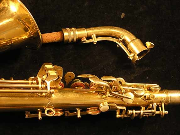Conn Gold Plate Transitional 6M Alto - 250404 - Photo # 6