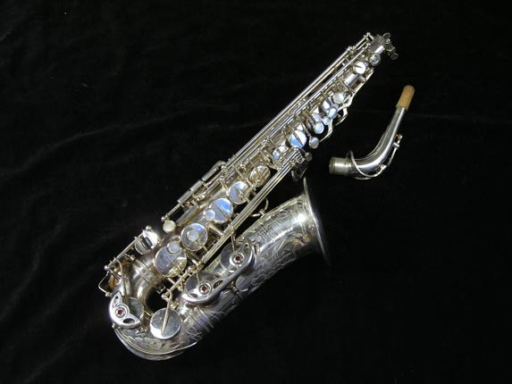 Selmer Silver Plate Mark VI Alto - 76835 - Photo # 1