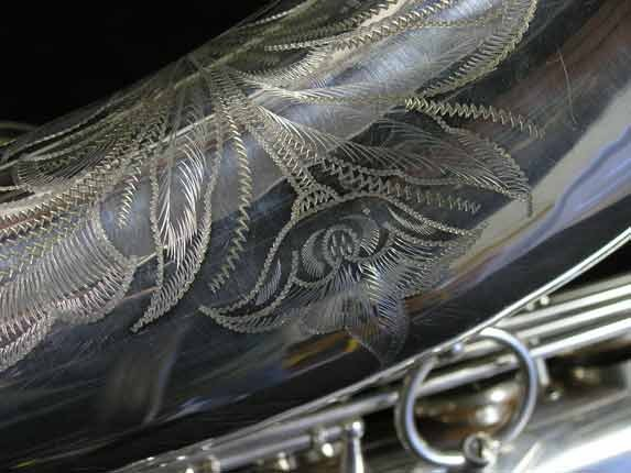 Selmer Silver Plate Mark VI Tenor - 82047 - Photo # 16