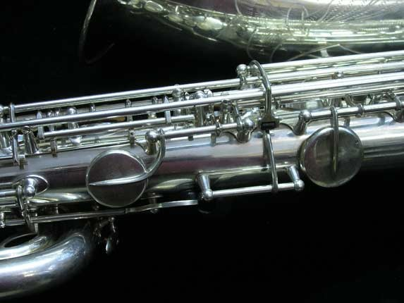 "Selmer Silver Plate Mark VI ""Low A"" Baritone - 138648 - Photo # 11"