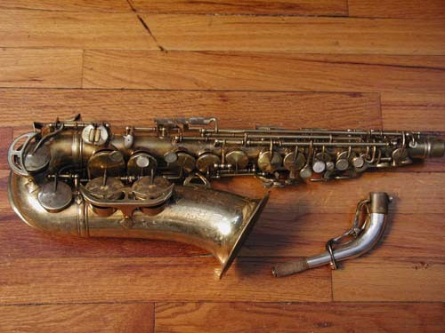 King Gold Plate-Sterling Neck Super 20 Alto - 295187 - Photo # 1
