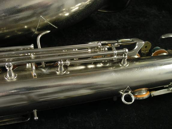 Conn Nickel Plate Chu Berry Tenor - 210338 - Photo # 16