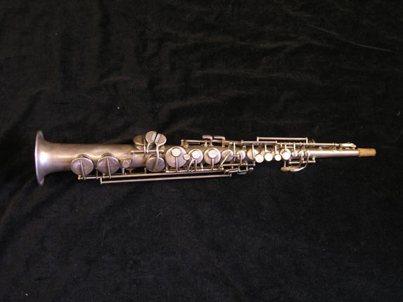 "Conn ""New Wonder"" Silver Plate C Soprano - 84475 - Photo # 1"