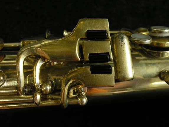 "Conn ""Portrait"" Gold Plate ""Nude Woman"" Tenor - 119399 - Photo # 8"