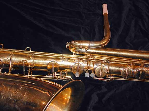 "Conn ""New Wonder"" Burnished Gold Plate Bass - 92312 - Photo # 5"
