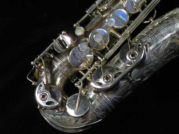 Selmer Silver Plate Mark VI Alto - 76835 - Photo # 2