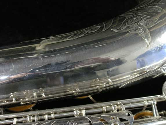 Selmer Silver Plate Mark VI Tenor - 82047 - Photo # 17