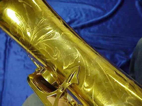 Selmer Gold Plate Mark VI Tenor - 164145 - Photo # 3