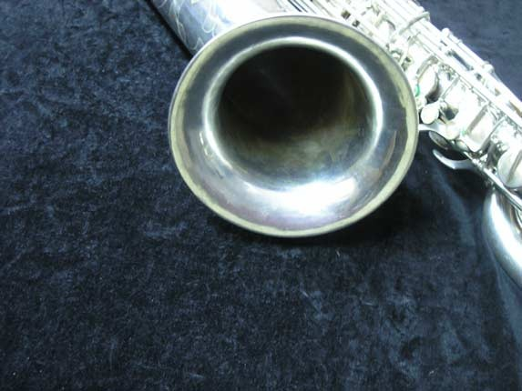 "Selmer Silver Plate Mark VI ""Low A"" Baritone - 138648 - Photo # 12"