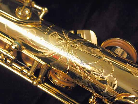 Selmer Gold Plate SA80 serie III Soprano - 637920 - Photo # 14