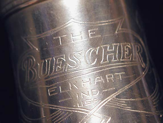 Buescher Silver Plate True Tone C Soprano - 236834 - Photo # 13