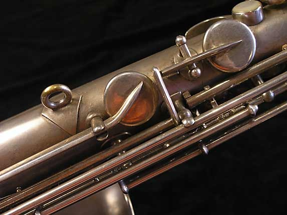 Buescher Matte Silver Plate True Tone Alto - 201428 - Photo # 11
