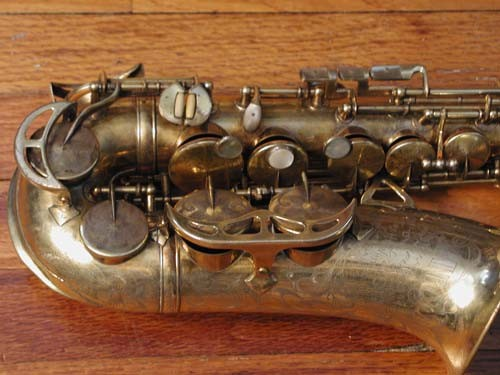 King Gold Plate-Sterling Neck Super 20 Alto - 295187 - Photo # 2